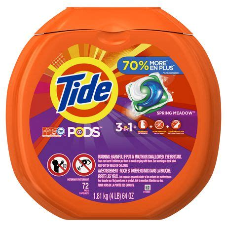 tide pods spring meadow scent he turbo laundry detergent pacs walmart canada