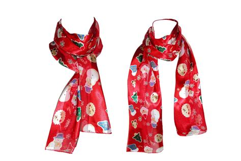 womens snowman scarf by ctm 174 fashion scarves
