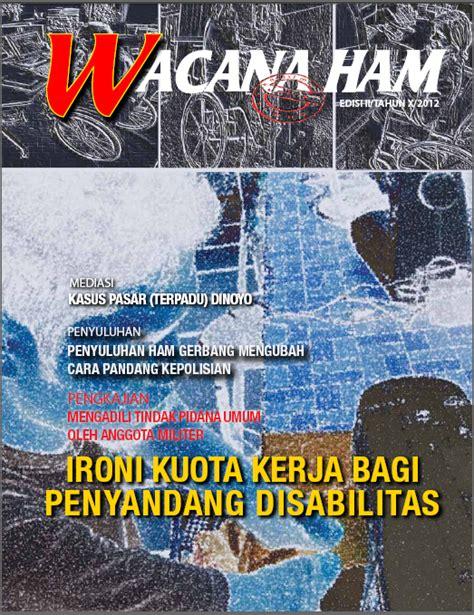 Majalah No368334xv22 Juli 4 Agustus 2000 wacana ham edisi 2 tahun 2012