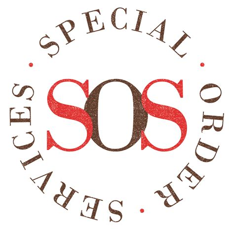 Special Order special order services