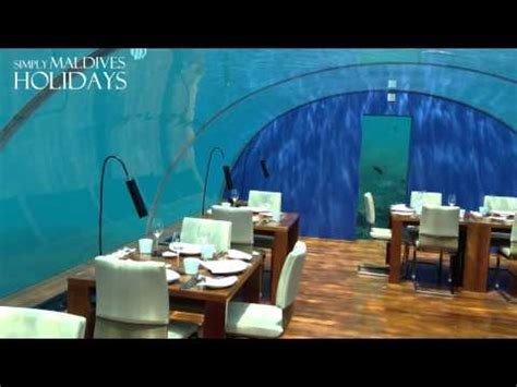 ithaa undersea restaurant prices amazing underwater restaurant in maldives