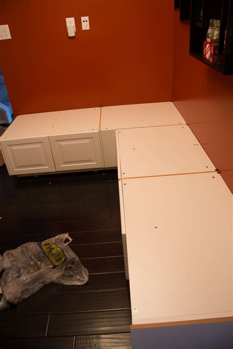 how to build banquette seating with cabinets how to build a banquette bench diy upholstered banquette seat part one with how to