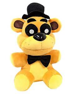 Golden freddy exclusive five nights at freddys collectible plush 7