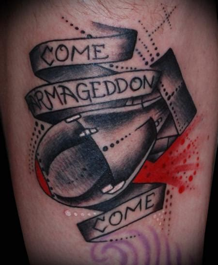 traditional atomic bomb tattoo by adam lauricella tattoonow