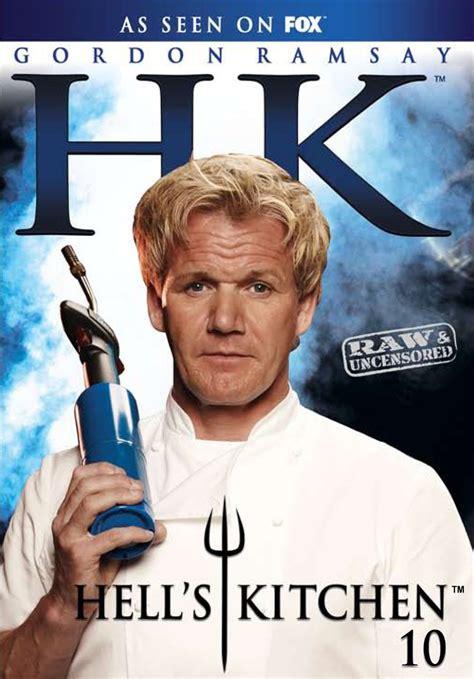 hell s kitchen season 4 hell s kitchen season 10 series ten gordon ramsay region 1 new dvd 4 discs ebay