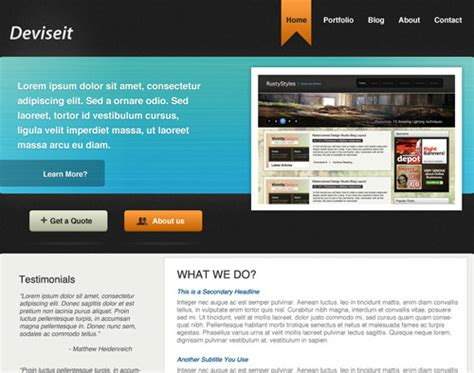 web design company in btm layout photoshop web design layout tutorials from 2010 noupe