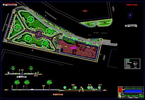 playground  dwg design block  autocad designs cad