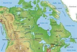 us and canada physical map labeled adventures in canada