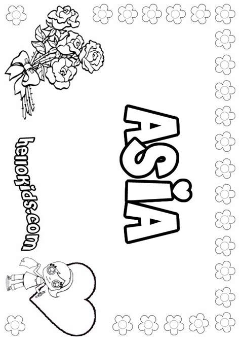 coloring pages of the name ashley name ashley coloring pages