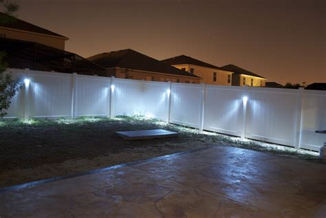 10 Things To Know About Fence Lights Outdoor Warisan Fence Lights Outdoor