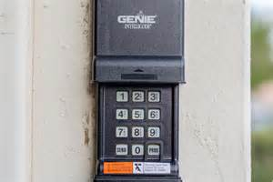 How To Reprogram Garage Door Keypad How To Reprogram A Genie Intellicode With Pictures Ehow