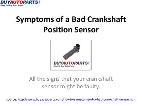 Jeep Crankshaft Position Sensor Symptoms What Are The Symptoms Of A Bad Camshaft Sensor Ehow