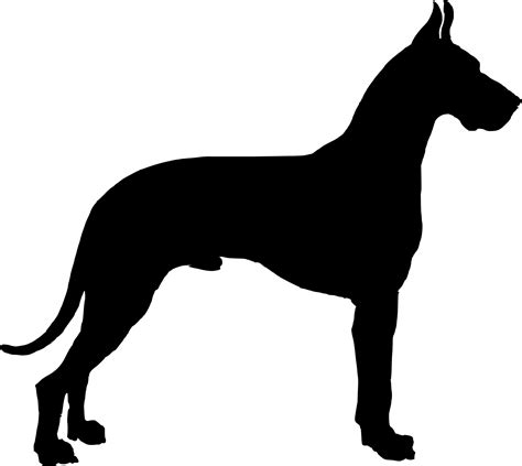 puppy silhouette the gallery for gt boxer silhouette