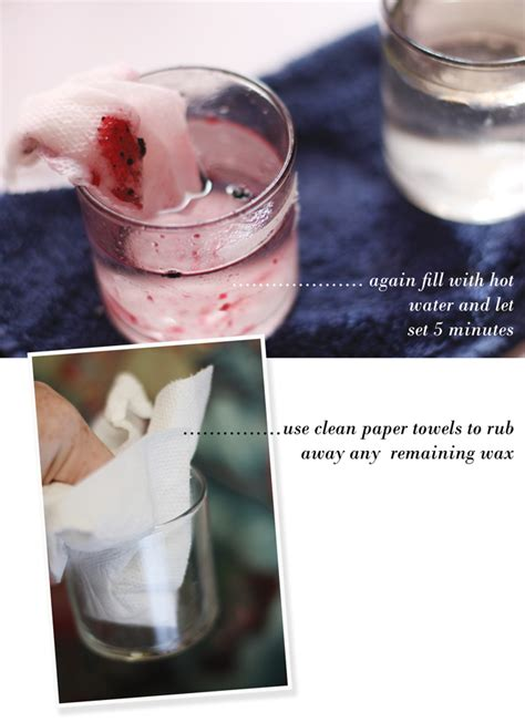 how to remove candle wax from glass containers aunt peaches how to remove candle wax from glass containers aunt peaches