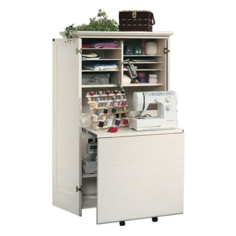 sewing machine armoire cabinet office furniture standing desk craft sewing machine