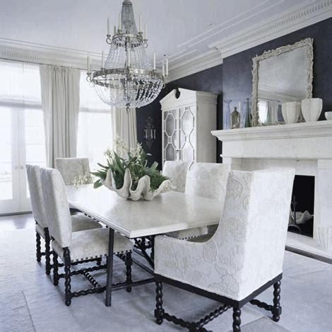 10 inspiring black and white dining room designs