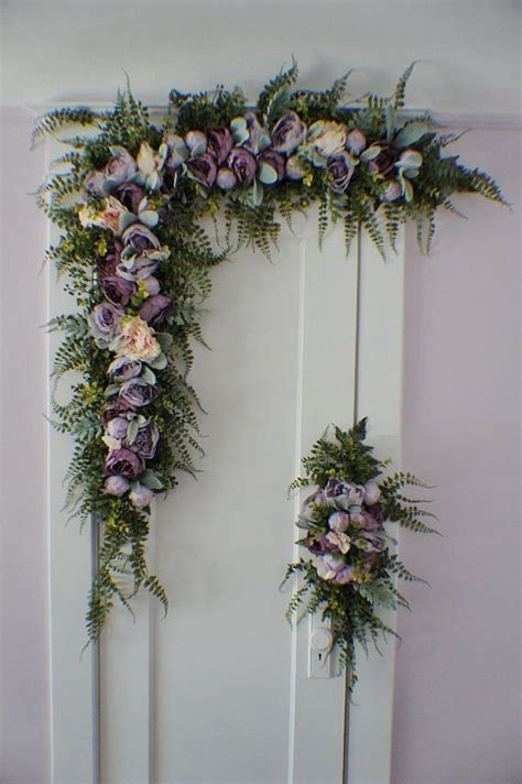 Wedding Arch Cost by Exciting Wedding Arch Flowers Decorations Ebay 15 Strings