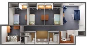 2 Bedroom Suites In Savannah Ga housing amp residence life prospective residents