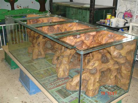 Aquaplum' Coraux   Fabrication d'aquariums