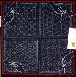 Japanese Quilting Sashiko 17 best images about japanese sashiko quilting on