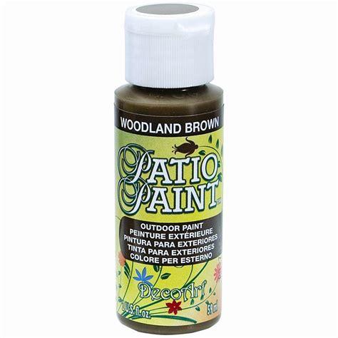 patio paint home depot decoart 2 oz patio woodland brown acrylic paint dcp18 3 the home depot