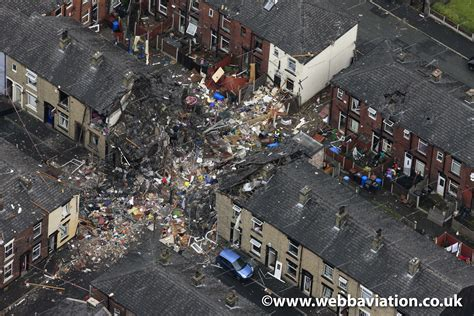 Row Houses by Oldham Gas Explosion 2012