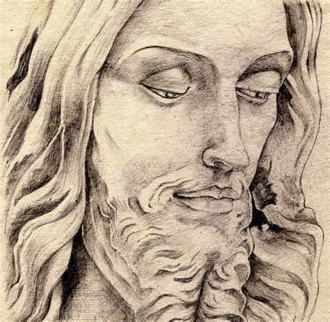 Drawing Jesus by Pencil Drawings Colored Pencil Drawings Of Jesus
