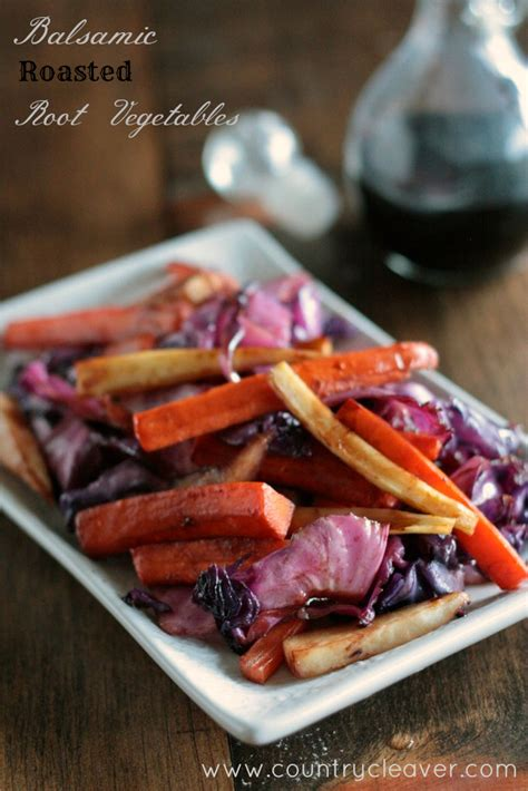 roasted root vegetables balsamic balsamic roasted root vegetables country cleaver