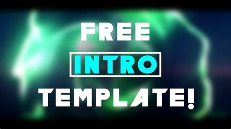 c4d intro template free multicolor intro template ft kingfx c4d not