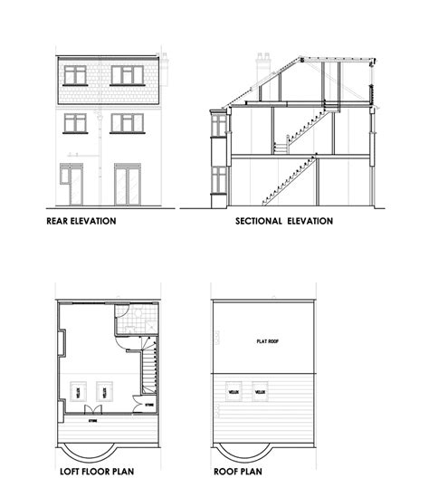 terraced house loft conversion floor plan 22 terraced house loft conversion floor plan decor23