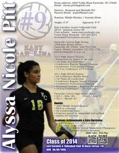 curriculum vitae template journaliste sportif rtl most x alyssa volleyball flyer sports resumes recruiting flyers pinterest flyers and volleyball