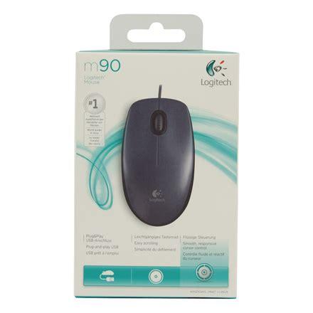 Logitech Optical Mouse M90 pel范 logitech m90 corded optical mouse juodas varle lt