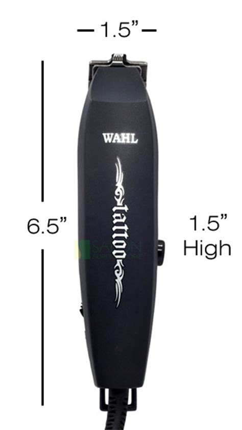 wahl tattoo designs wahl line trimmer hair design cut clipper 8043