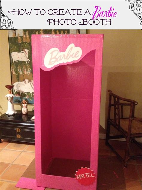 barbie photo booth layout homemade photo booths photo booths and memoirs on pinterest