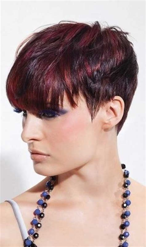 pixie cuts cherry brown 35 short hair color trends 2013 2014 short hairstyles