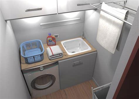soluzioni bagno lavanderia ricavare secondo bagno lavanderia e armadio a muro da un