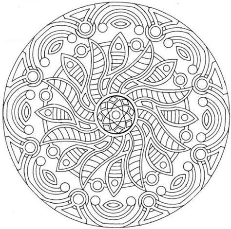 complex mandala coloring pages mandala free coloring pages complex mandala coloring