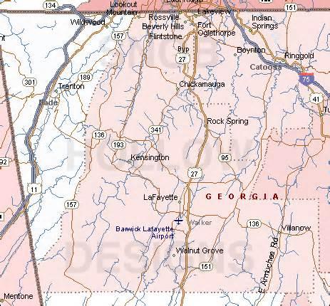walker county color map