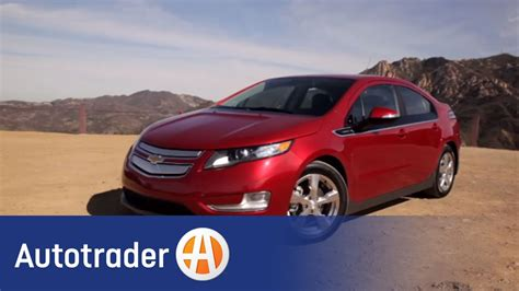 chevrolet volt hyrbid  car review autotrader