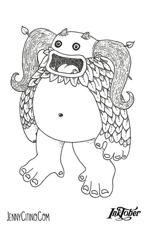 singing monsters coloring pages my singing monsters coloring pages sketch coloring page