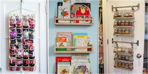 back of closet door storage closet door storage ideas new uses for closet doors