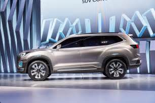 7 Passenger Subaru Subaru Viziv 7 Concept Debuts Seven Seater Suv Image 581349