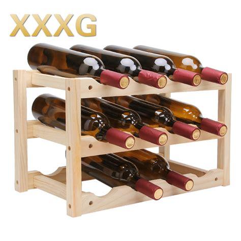 red wine rack xxxg solid wood creative folding wine red wine rack