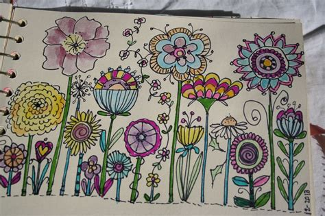 doodle flowers meaning doodle flowers doodling