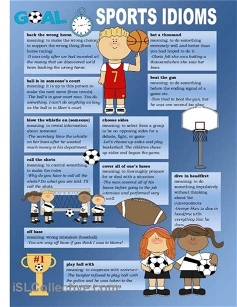 swing idioms poster about sport idioms posters pinterest student