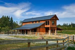 barn homes for pole barn houses exterior farmhouse with balustrade