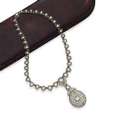 a diamond necklace, by buccellati | christie's