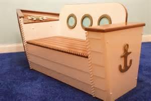 toybox bench nautical box bench by adamz originals style