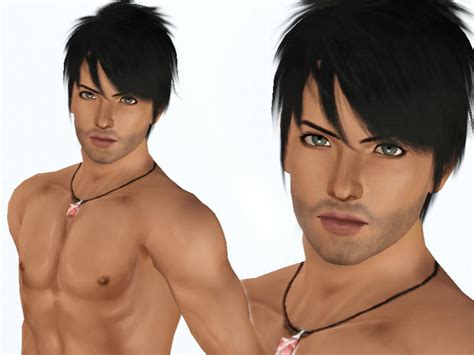 download hair male the sims 3 dhylaciouz s martin