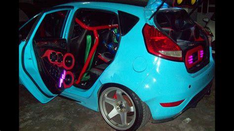 custom wide body kit ford fiesta modified youtube